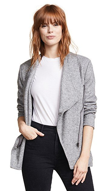 Downtown Brushed Knit Jacket