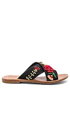 Embellished Floral Sandal                                             Soludos