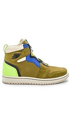 AJ 1 High Zip Premium Sneaker                                             Jordan