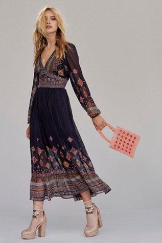 Wishing Well Midi Dress