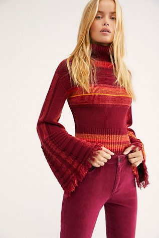 Close To Me Striped Pullover Sweater