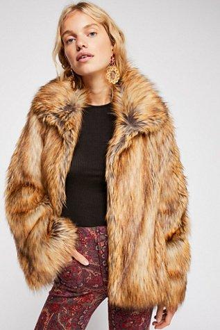 Furys Faux Fur Jacket