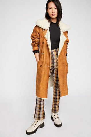 Sherpa Suede Trench