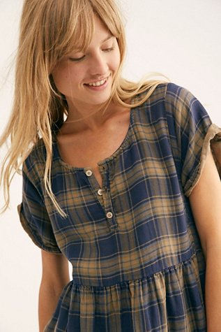 Some Like It Plaid Tunic