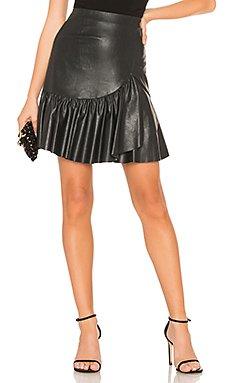 Vegan Leather Skirt                                             Rebecca Taylor