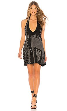 Country Nights Embellished Dress                                             Free People