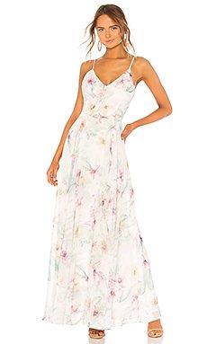 Peace and Love Maxi Dress                                             Yumi Kim