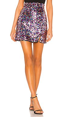Palma Mini Skirt                                             MAJORELLE