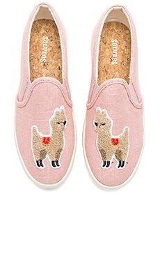 Llama Slip On Sneaker                                             Soludos