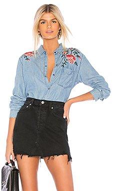 Ingrid Button Down Shirt                                             Rails