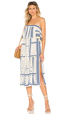 Wild Romance Embroidered Dress                                             Free People