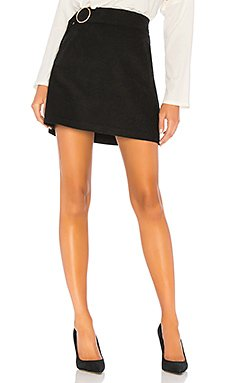 Belted Corduroy Mini Skirt                                             J.O.A.
