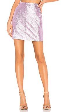 Leather Skirt                                             KARL X KAIA