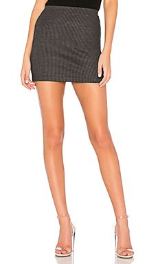 Solyanka Striped Mini Skirt                                             Bailey 44