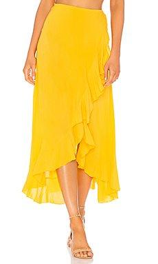Reese Wrap Skirt                                             Indah