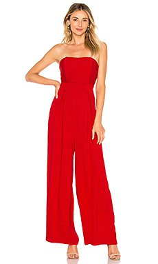 X REVOLVE Strapless Jumpsuit                                             Endless Rose