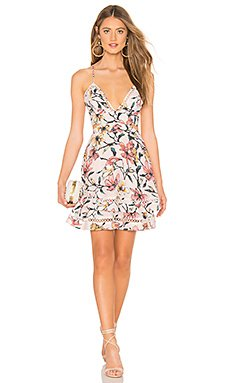 Gabriella Floral Mini Dress                                             aijek