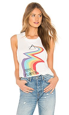Pink Floyd Rainbow Road Muscle Tank                                             DAYDREAMER