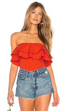 Strapless Ruffle Top 8\