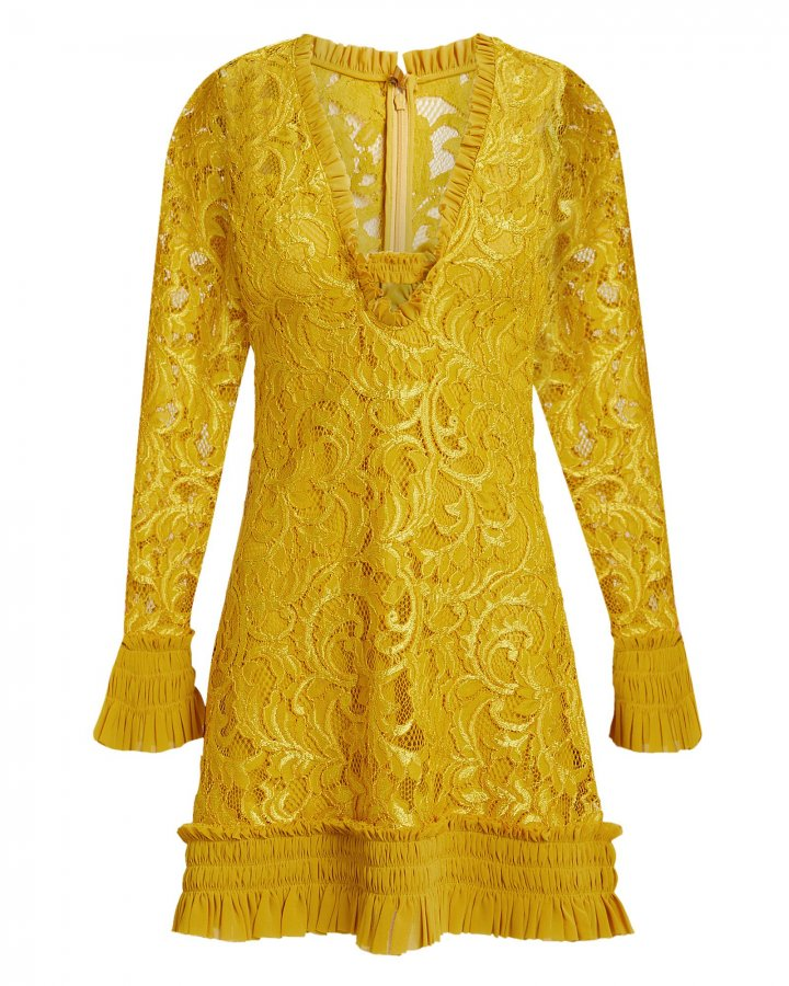 Nuray Lace Mini Dress