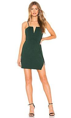 Josie Wrap Mini Dress                                             About Us