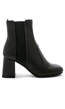 Scallop Heel Bootie                                             See By Chloe