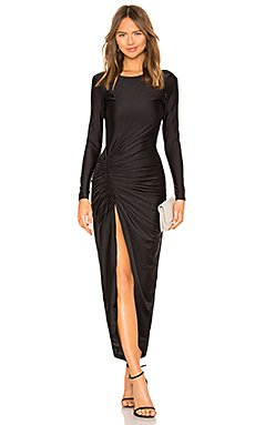 Sarah Ruched Maxi Dress                                             by the way.