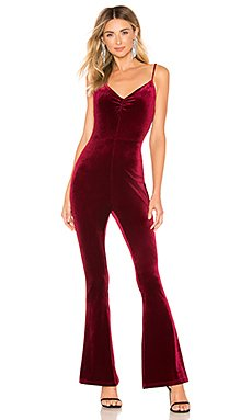Lili Velvet Ruched Jumpsuit                                             by the way.