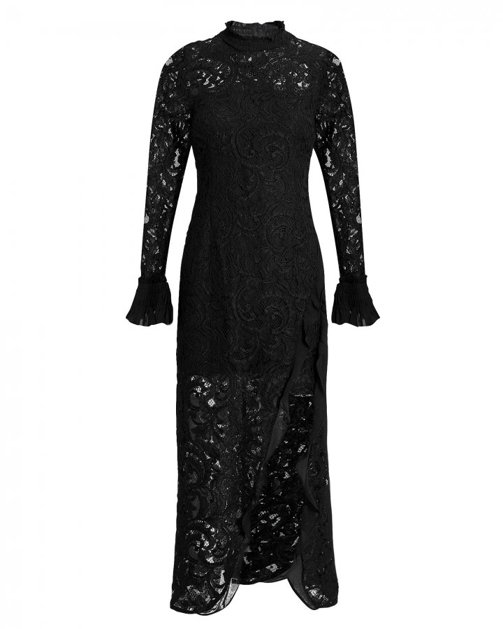 Fala Lace Midi Dress