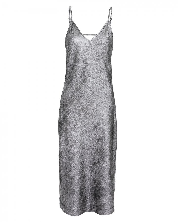 Julep Metallic Slip Dress