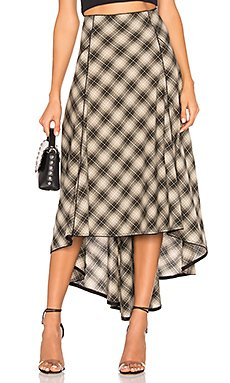 North West Plaid Skirt                                             Free People