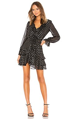 Spot Shirt Dress                                             Bardot