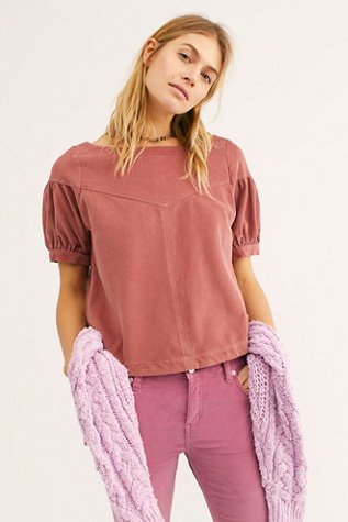 Cording Around Blouse
