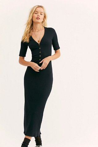 Lulu Henley Midi Dress