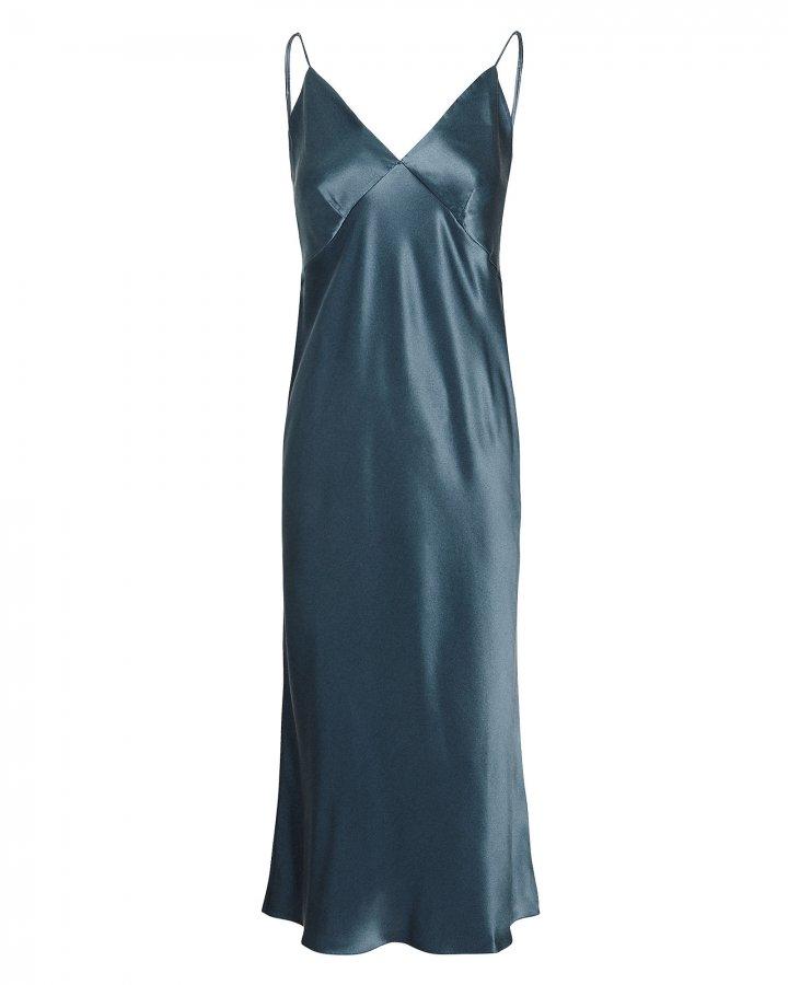 Issa Peacock Slip Dress