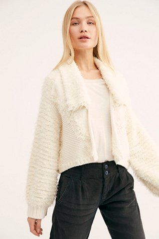 Dandelion Wished Sweater Cardi