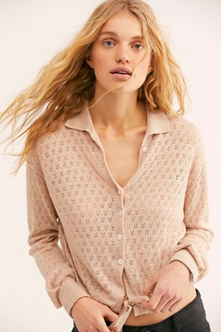 Betty Tie-Front Sweater