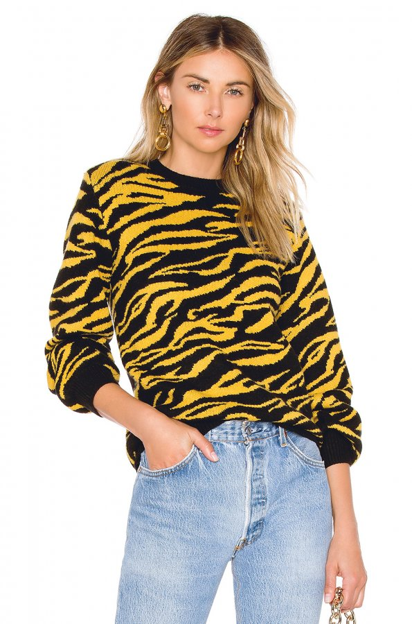 x REVOLVE Tiger Sweater