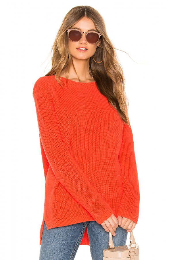 Emma Sweater  in Orange