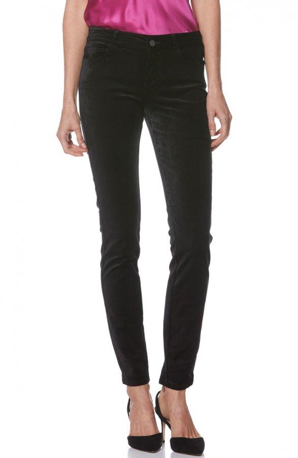 Verdugo Ultra Skinny Velvet Pants
