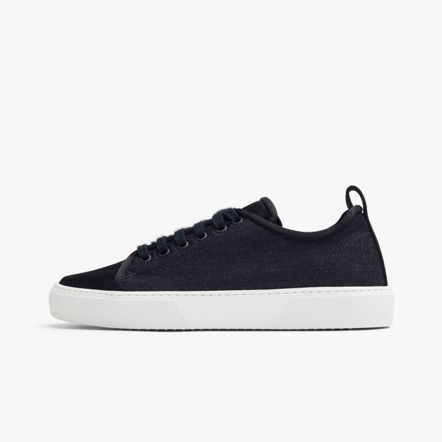 CARBON INDIGO DENIM SNEAKER