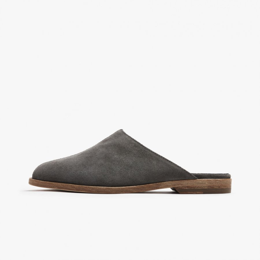 HELENA BRUSHED SUEDE MULE