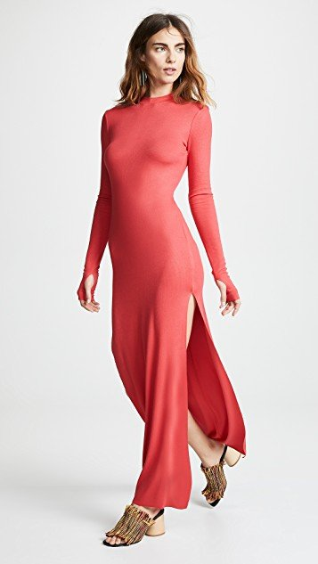 Mackay Rib Midi Dress