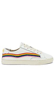 Rainbow Wave Sneaker                                             Soludos