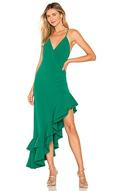 Evergreen Gown                                             Lovers + Friends