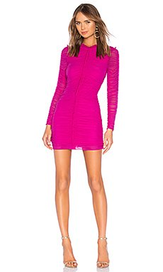 Las Olas Long Sleeve Mini Dress                                             NBD