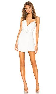 Kasey Belted Blazer Dress                                             superdown
