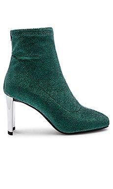 Metallic Sock Bootie                                             Lola Cruz