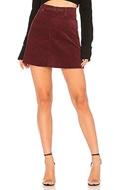 High Rise Corduroy Skirt                                             BLANKNYC