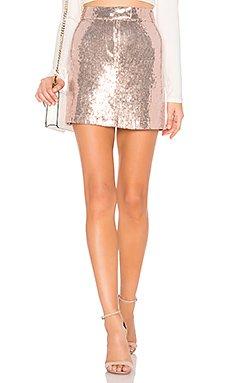 Modern Love Mini Skirt                                             BB Dakota